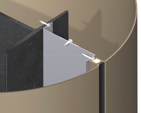 Stainless Steel Column Covers | Pelapisan Tiang Bangunan dengan Stainless | Tiang Kolom Stainless