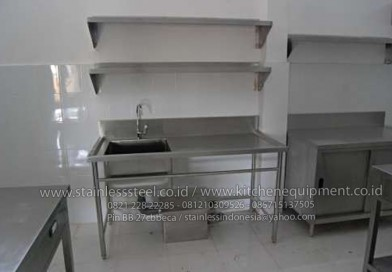 Wastafel Cuci Piring Stainless Meja Dapur Steel Harga Kitchen Sink