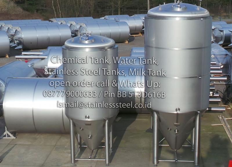 Pabrik Tangki Stainless Steel | Jasa Fabrikasi Tangki Stainless | Jasa Pembuatan Tangki Stainless Steel